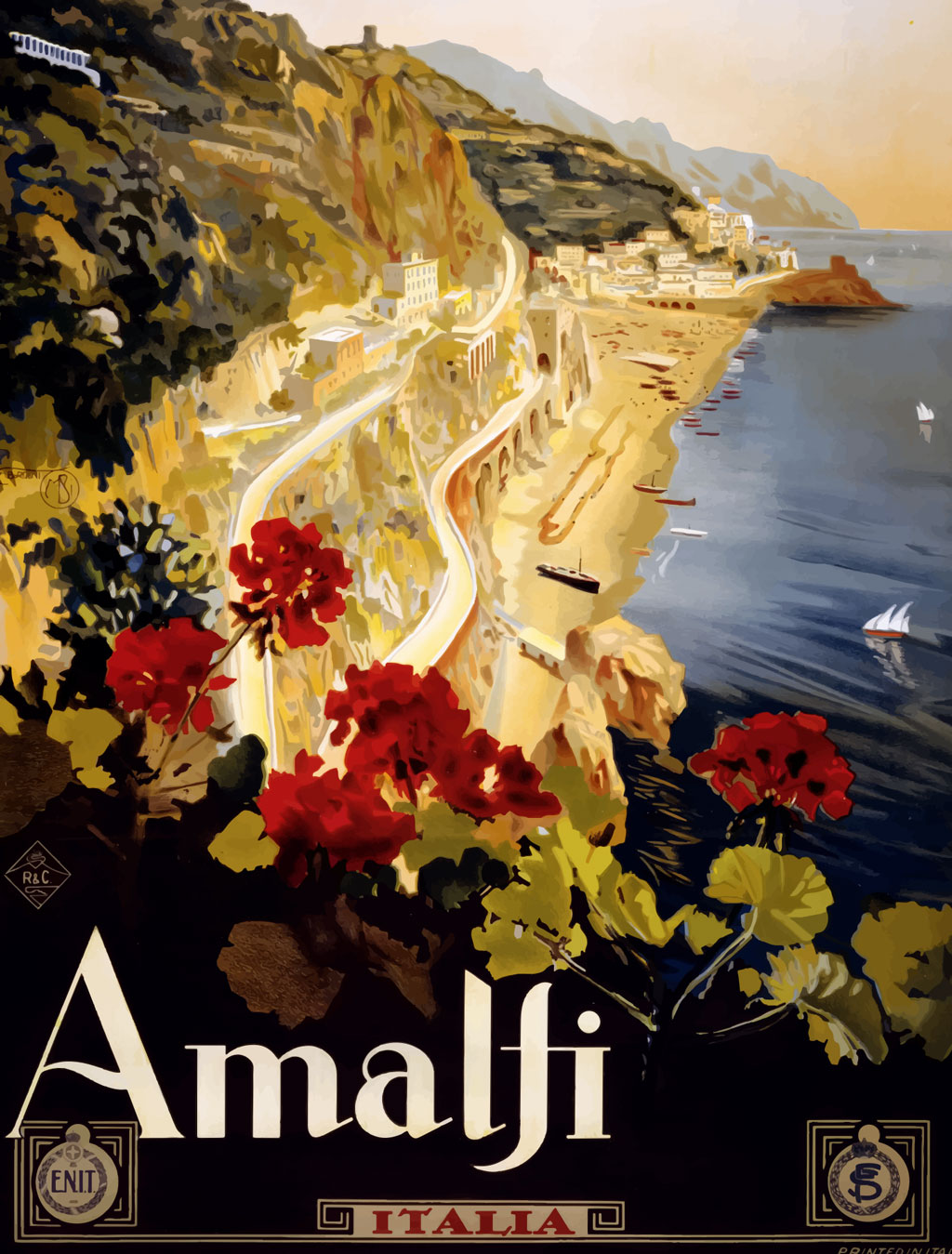 Italy Vintage Poster 8