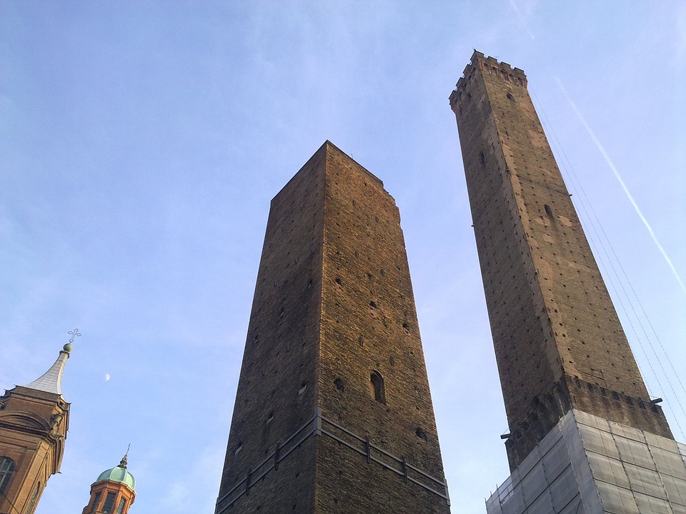 bologna, two towers, asinelli
