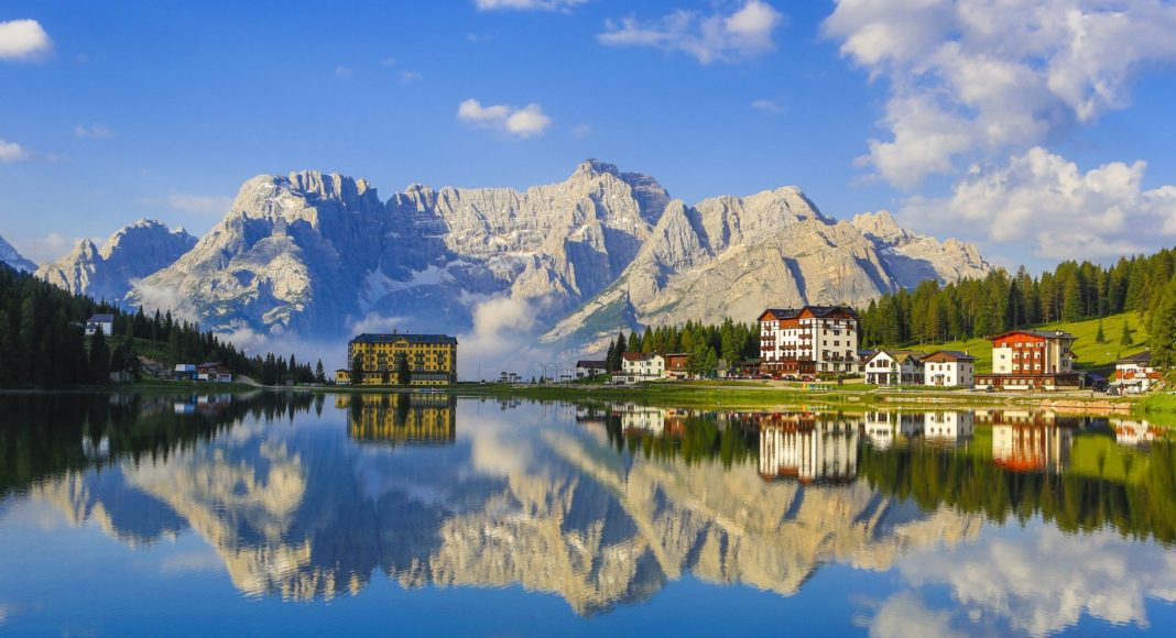 Dolomites, Misurina Lake