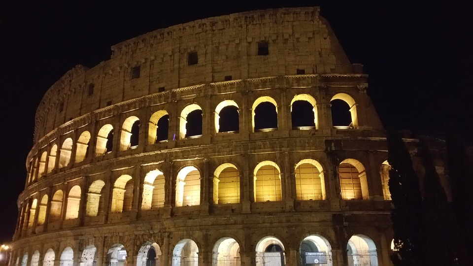 colosseo, rome, ancient