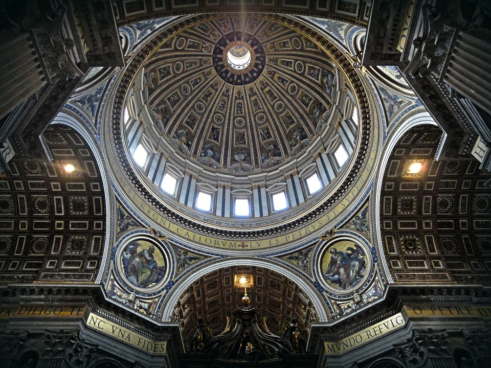 dome, rome, saint peter