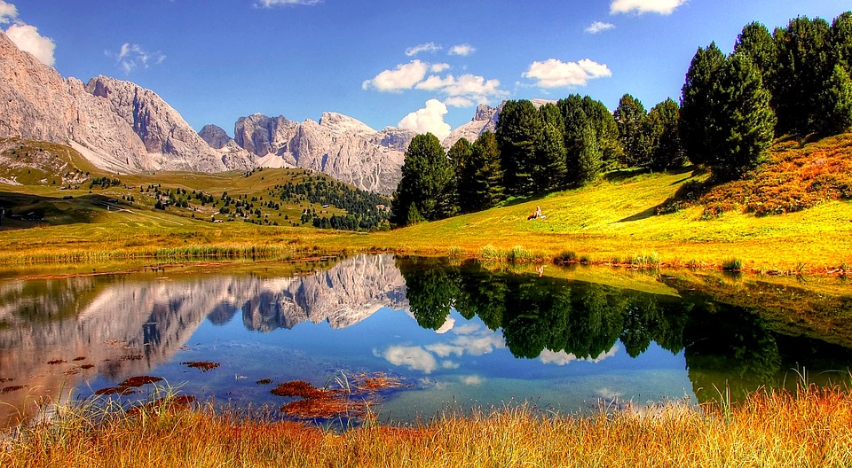 dolomites, mountains, italy