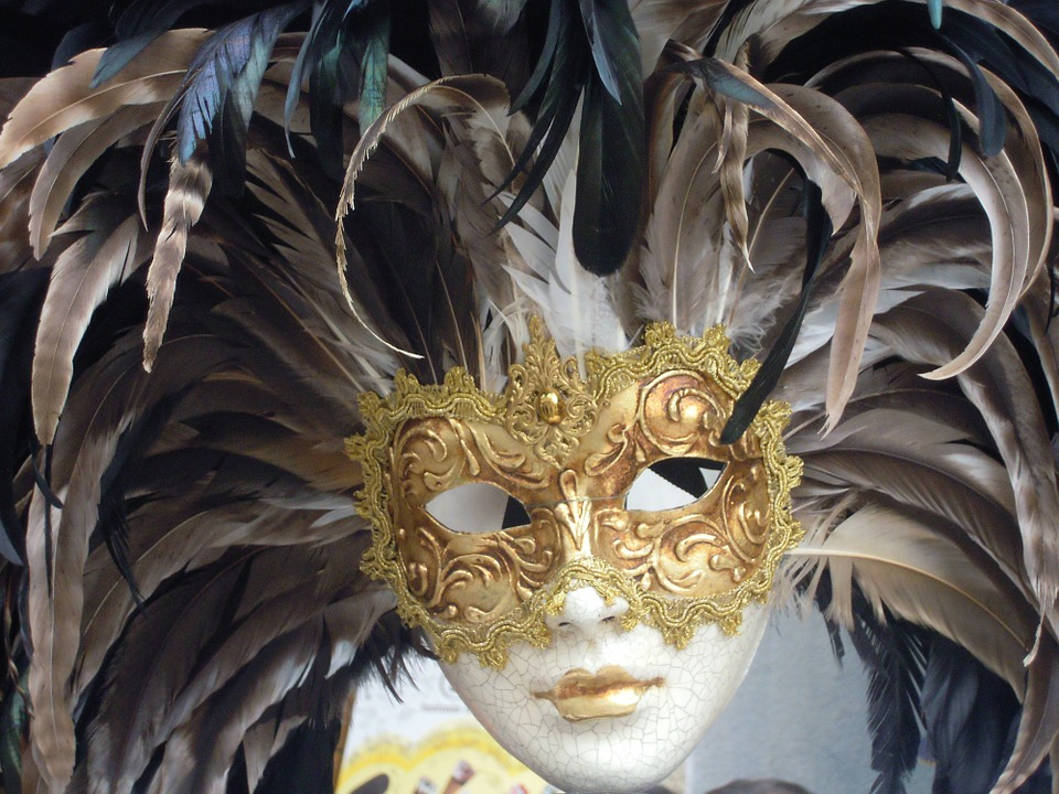 mask of venice, carnival, italy