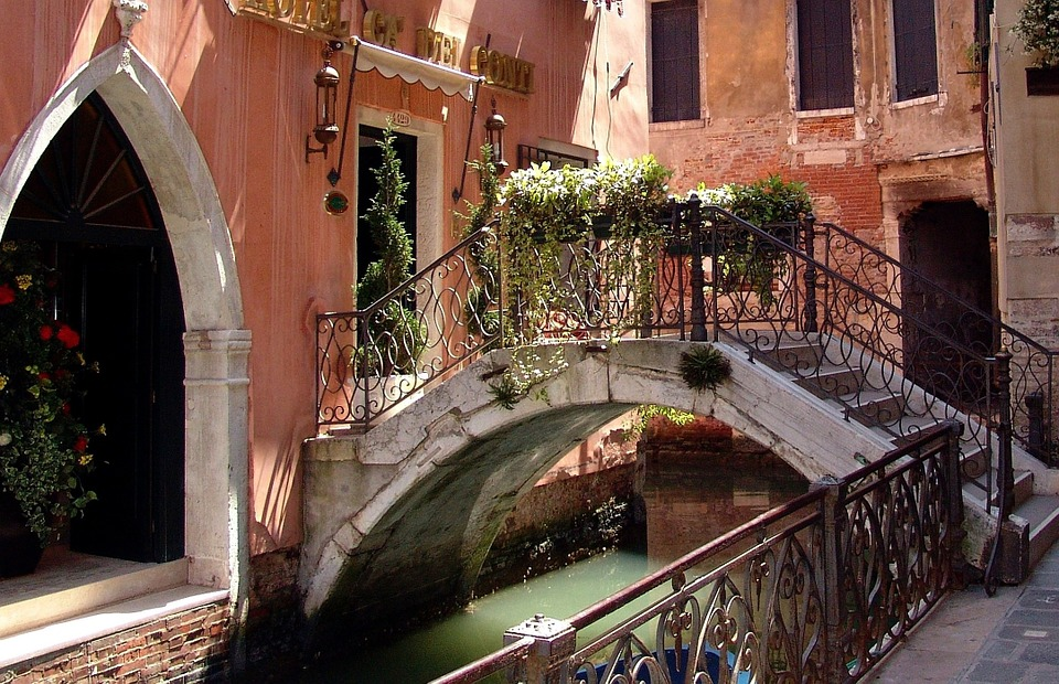 venice, channel, italy