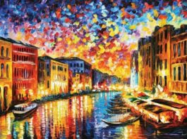 painting of italy